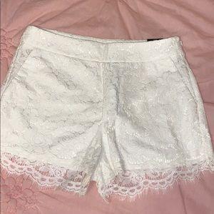 NWT Express Lace Shorts